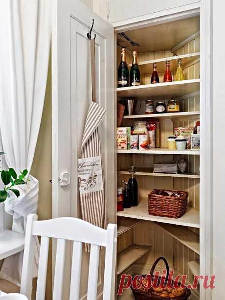 Шкаф-кладовка для дома — Наши дома