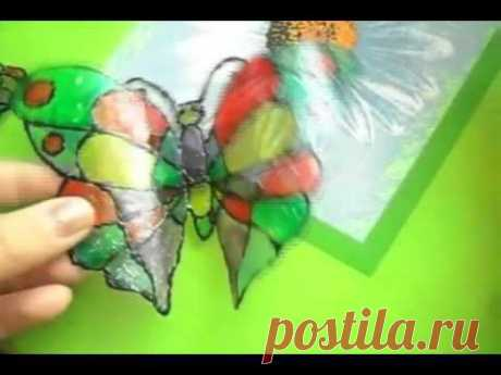 Поделки для сада. Бабочка из пластиковой бутылки - YouTube