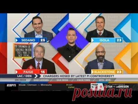 ESPN Around The Horn | Reaction to Texans def. Patriots, Ravens def. 49ers & Auburn def. Alabama