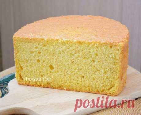 Невероятное тесто для Классического Бисквита Получается очень вкусным и не забитым! Такой удачный бисквит редко, когда приготовишь!
