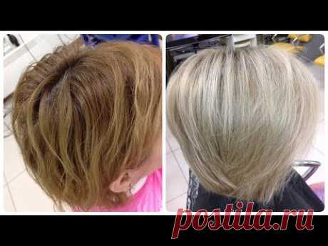 Blonde without bleaching: dyeing hair the cream color