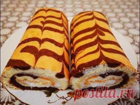 Las recetas SIMPLES el panecillo DE BIZCOCHO en 15 minutos con la crema RAFAELLO la receta de la crema RAFAELLO