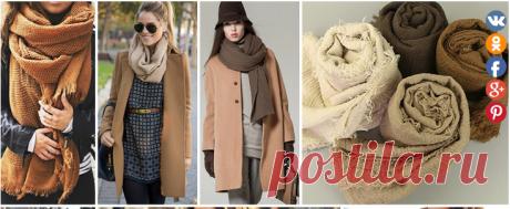 Пора завязывать: как носить шарф, платок, тюрбан, снуд, палантин, косынку. Для осени и для зимы! — HandMade