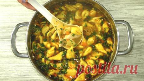 Один из лучших рецептов супа на каждый день. Быстро и просто (понравится всем)   Рукоделочка   Яндекс Дзен