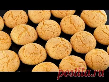 🥥Нежное сливочно-кокосовое печенье к чаю или кофе! Вкусное домашнее печенье как в детстве!