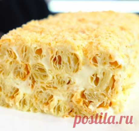 Торт из 3 ингредиентов / Видео-рецепты / TVCook: пошаговые рецепты с фото