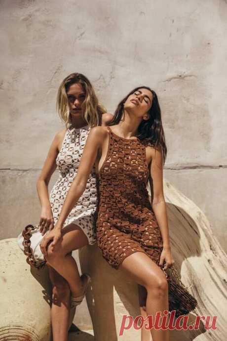 Невероятно женственные платья крючком для незабываемого отдыха. Вдохновляющая подборка - Сам себе мастер - медиаплатформа МирТесен 