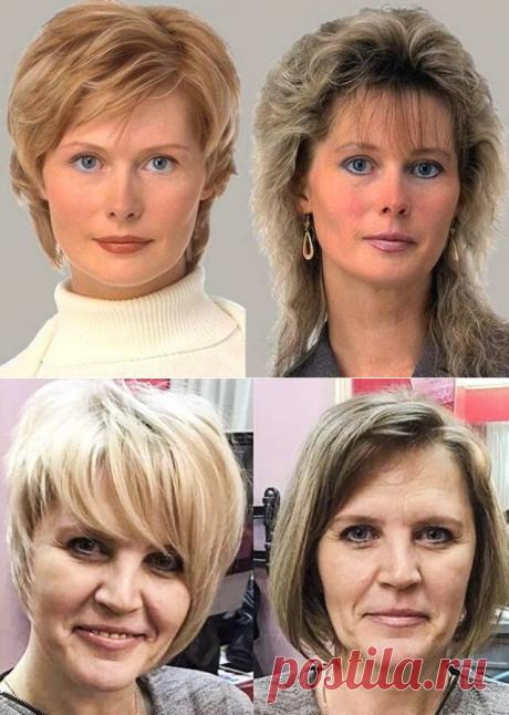 Цвет волос: влияние на женский образ, возраст и красоту (сравните фотографии ДО и ПОСЛЕ) | Мода в деталях | Яндекс Дзен