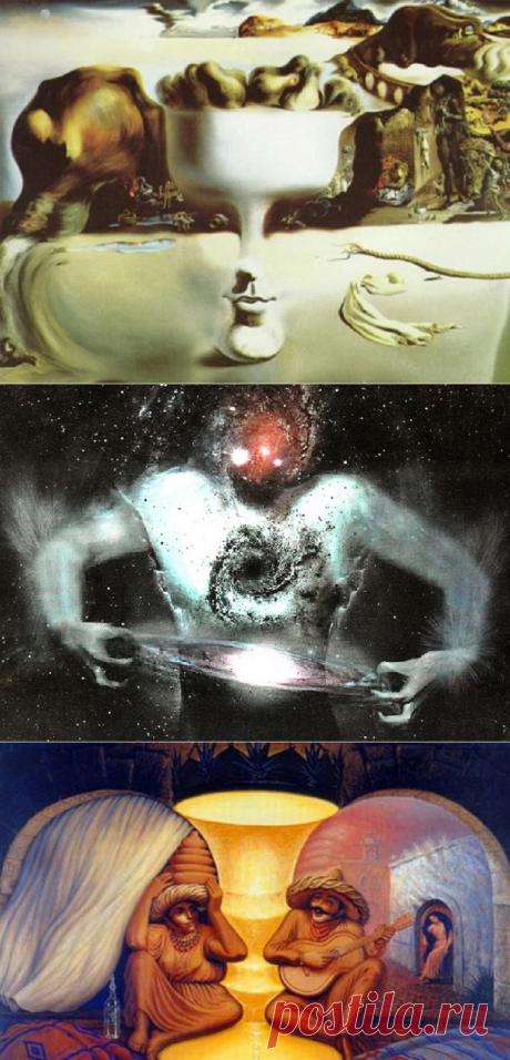То, что ты увидишь первым на этих картинках, расскажет о тебе многое… Арт-тест: послание из подсознания!