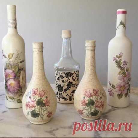 декор бутылок– Google Поиск