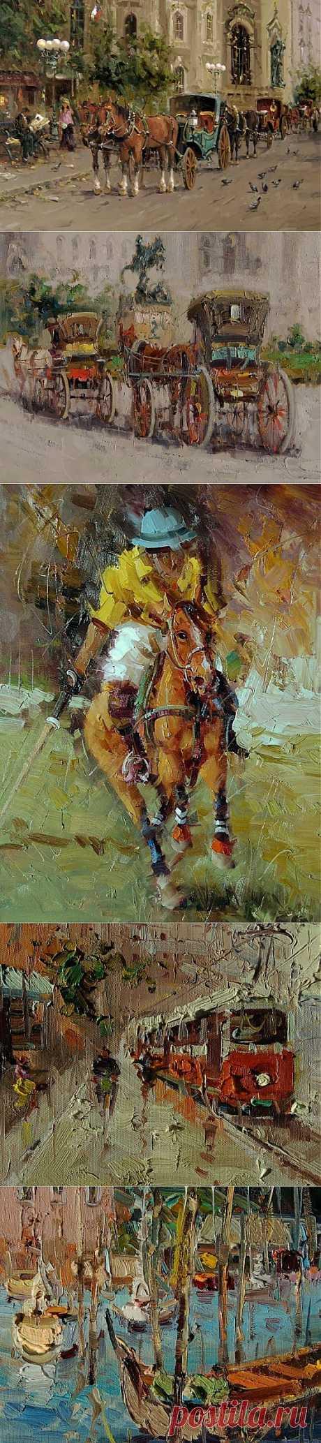 (+1) тема - Творчество иранского художника Мустафы Кихани   Искусство