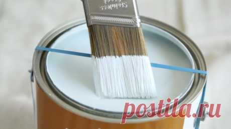 10 лайфхаков при работе с краской