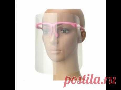 protector facial casero