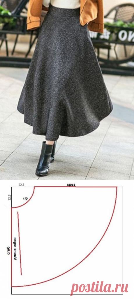 """Классная юбка """"Фунтик"""", что такое и как сшить"""