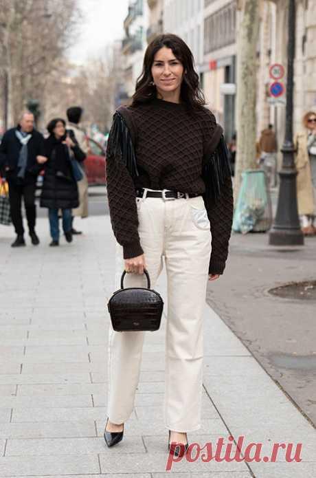 Какие джинсы в тренде весной-2020: как правильно носить белые джинсы в новом сезоне | Журнал Cosmopolitan