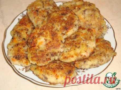 Котлеты из рыбных консервов и картофеля - кулинарный рецепт