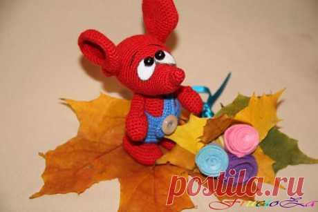 Осенний мышонок Сеня))) - Ярмарка Мастеров - ручная работа, handmade