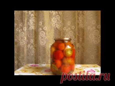 Заготовки на зиму. Сочные помидоры с мёдом .