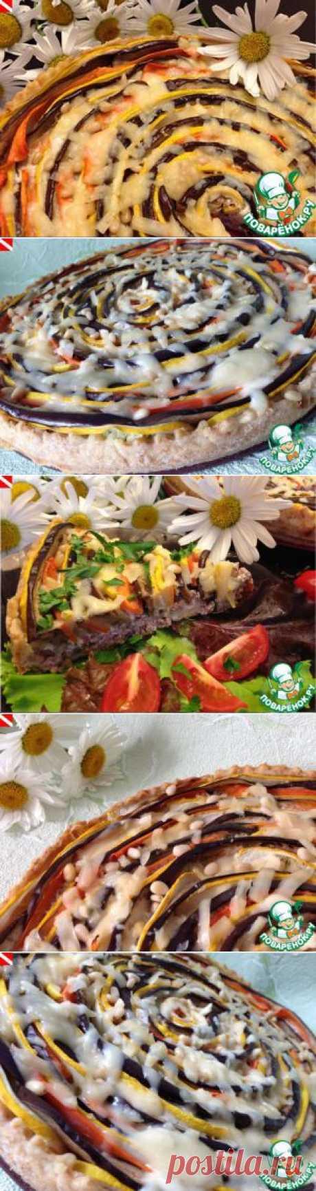 """Овощной тарт """"Краски лета"""" - кулинарный рецепт"""
