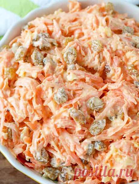 Морковный салат с изюмом и ананасом Морковный салат с изюмом и ананасом - пошаговый кулинарный рецепт приготовления с фото, шаг за шагом.