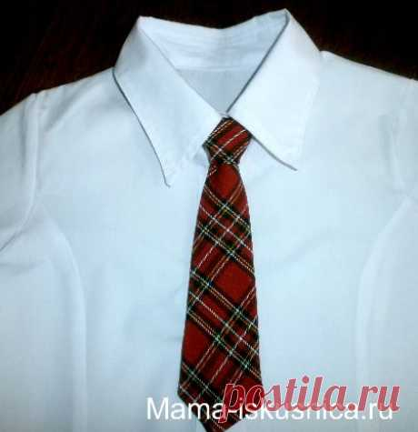 Как сшить галстук своими руками | Мама-Искусница