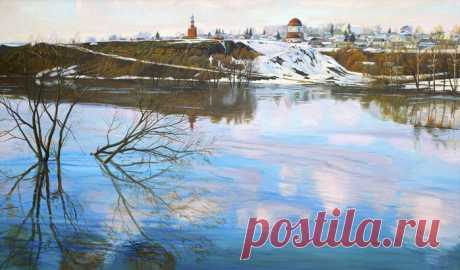 Творчество современного художника Виктора Плешкова