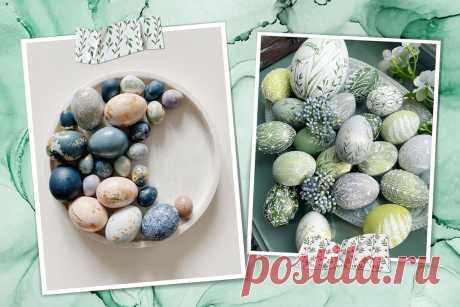 Как красить яйца на Пасху в 2021 году: красивые идеи из Instagram - Beauty HUB