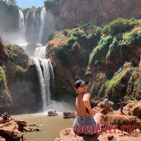 Admire one of Morocco's natural wonders on a day trip to the Ouzoud Falls from Marrakech. Travel into the Atlas Mountains by and air-conditioned vehicle, and witness the stunning, 360-foot (110-meter) waterfalls as they plunge down rugged cliffs  https://sunnyexcursion.com/package/ouzoud-waterfalls-day-trip-from-marrakech/