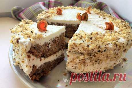 Морковный торт ПП: рецепт диетический с фото пошагово