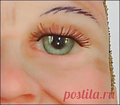 Реалистичные глаза для кукол.