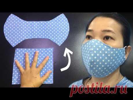 СПЕЦИАЛЬНО Делайте маски БЕЗ ЛИНЕЙКИ- Маска легко дышит, подходит для вашего лица всего за 4 минуты.