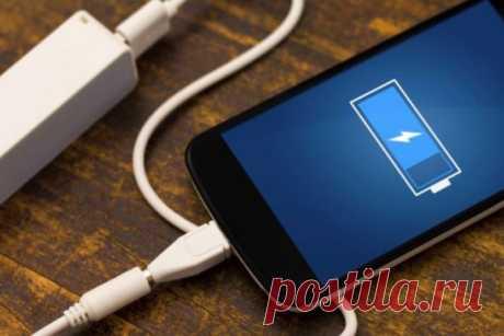 Эксперты назвали главные ошибки при зарядке смартфонов