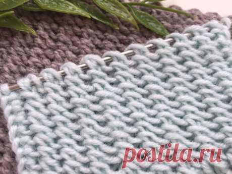 Новый текстурный узор для Кардигана, всего 1 раппорт | Вязание и Рукоделие | Яндекс Дзен