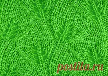 Ажурные листики спицами во множестве вариаций | Paradosik_Handmade | Яндекс Дзен