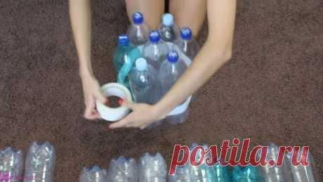 Делаем удобный и легкий табурет из пустых бутылок Пластик убивает природу, поэтому его просто необходимо утилизовать. Но, к сожалению, далеко не во всех странах налажена система возврата пластиковых бутылок. Как, например, в Германии, где покупатель …