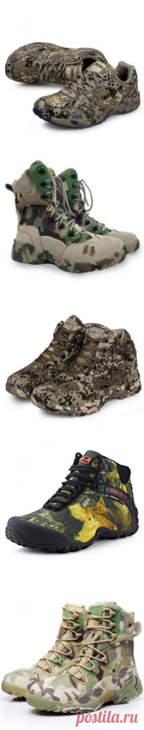Подборка мужской обуви в стиле милитари с Алиэкспресс | shopperali.ru
