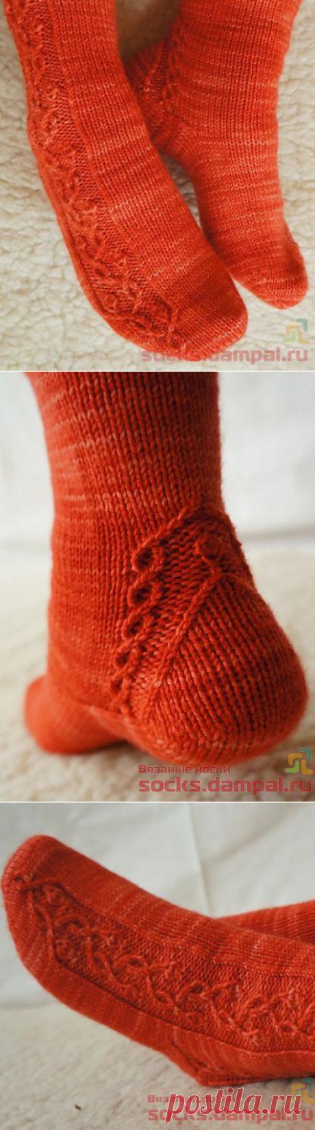 Вязаные носки «Spring Ecstasy»