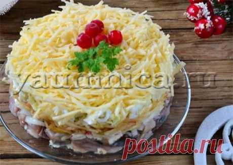 Салат с селедкой вкусный рецепт - Пошаговые рецепты с фото