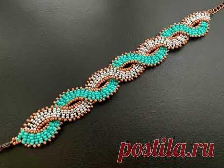 Wavy Bracelet || DIY Beaded Bracelet || Seed Beads Bracelet