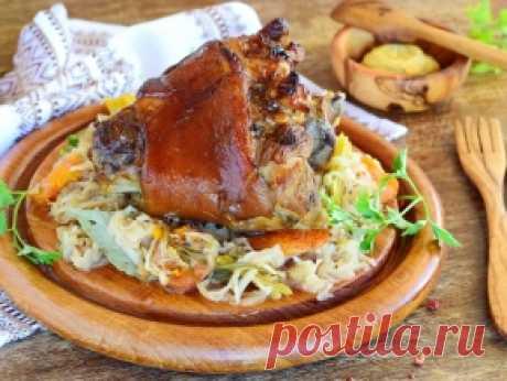 Свиная рулька — 16 рецептов с фото. Как приготовить свиную рульку вкусно?