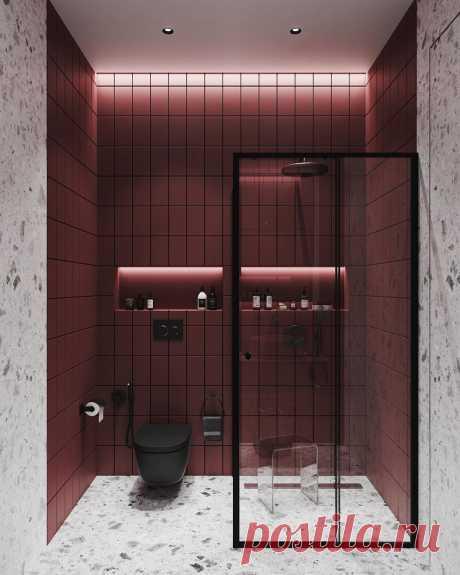 Интересная идея для оформления ванной комнаты   Хотите поделиться своими результатами ремонта? Присоединяйтесь к нашему проекту!