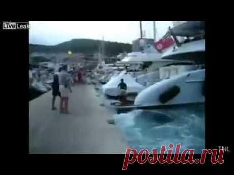 Аварии и катастрофы на воде - YouTube