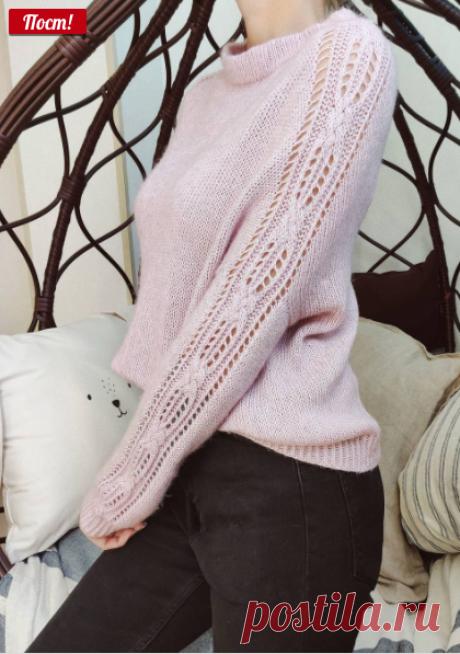 МАСТЕР-КЛАССЫ ПО ВЯЗАНИЮ в Instagram: «Скидка на МК #soulful_sweater Этот милаш из Lana Grossa Ecopuno ❤️ МК можно приобрести на сайте efgesha.ru»