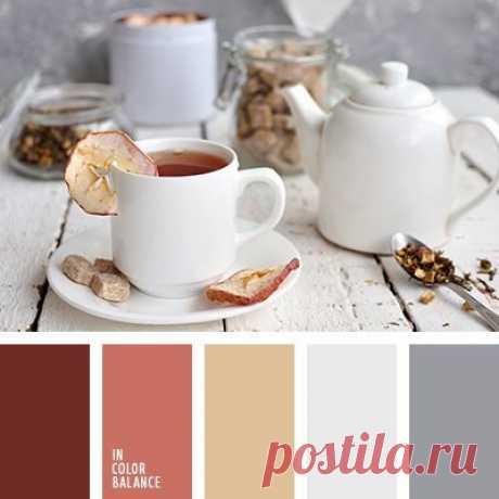 Как красиво сочетать спокойные осенние цвета