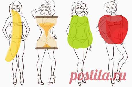 Как придерживаться диеты по форме фигуры, грамотные советы
