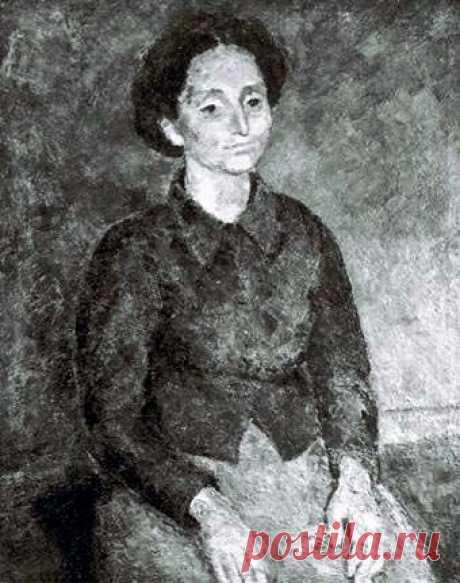 Р. Фальк. Портрет Баумволь. 1947 год.