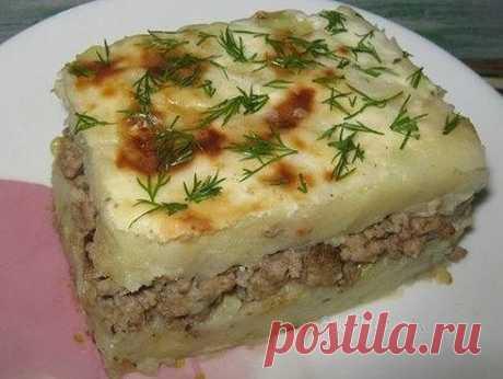 Как приготовить картофельная запеканка с фаршем и сыром - рецепт, ингредиенты и фотографии