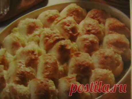 Картофельный торт с козьим сыром | Итальянское меню