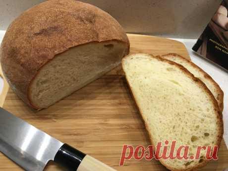 Французский сдобный хлеб Pain de Mie.