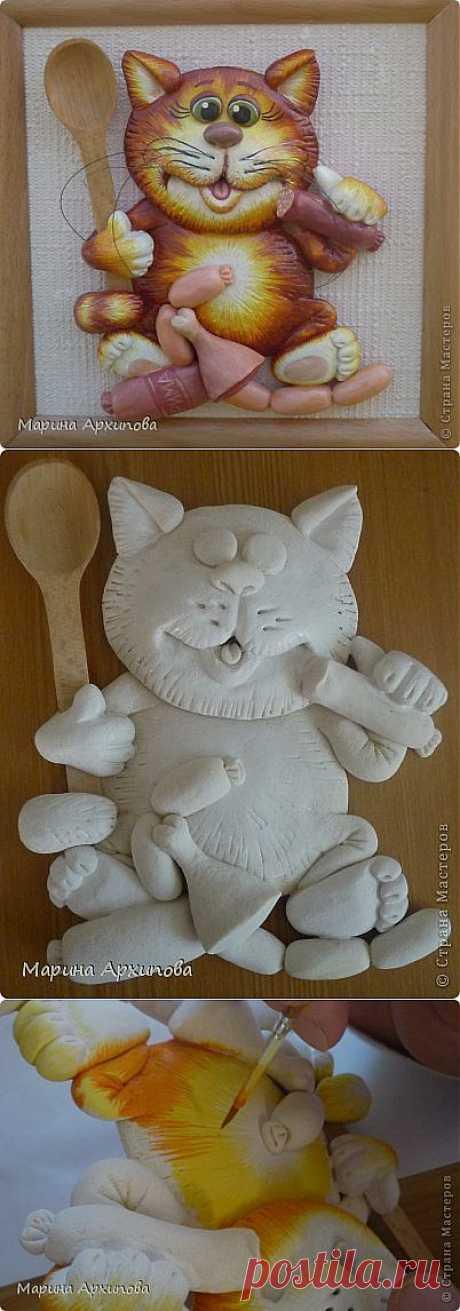 Опять кот-обжорик | Страна Мастеров